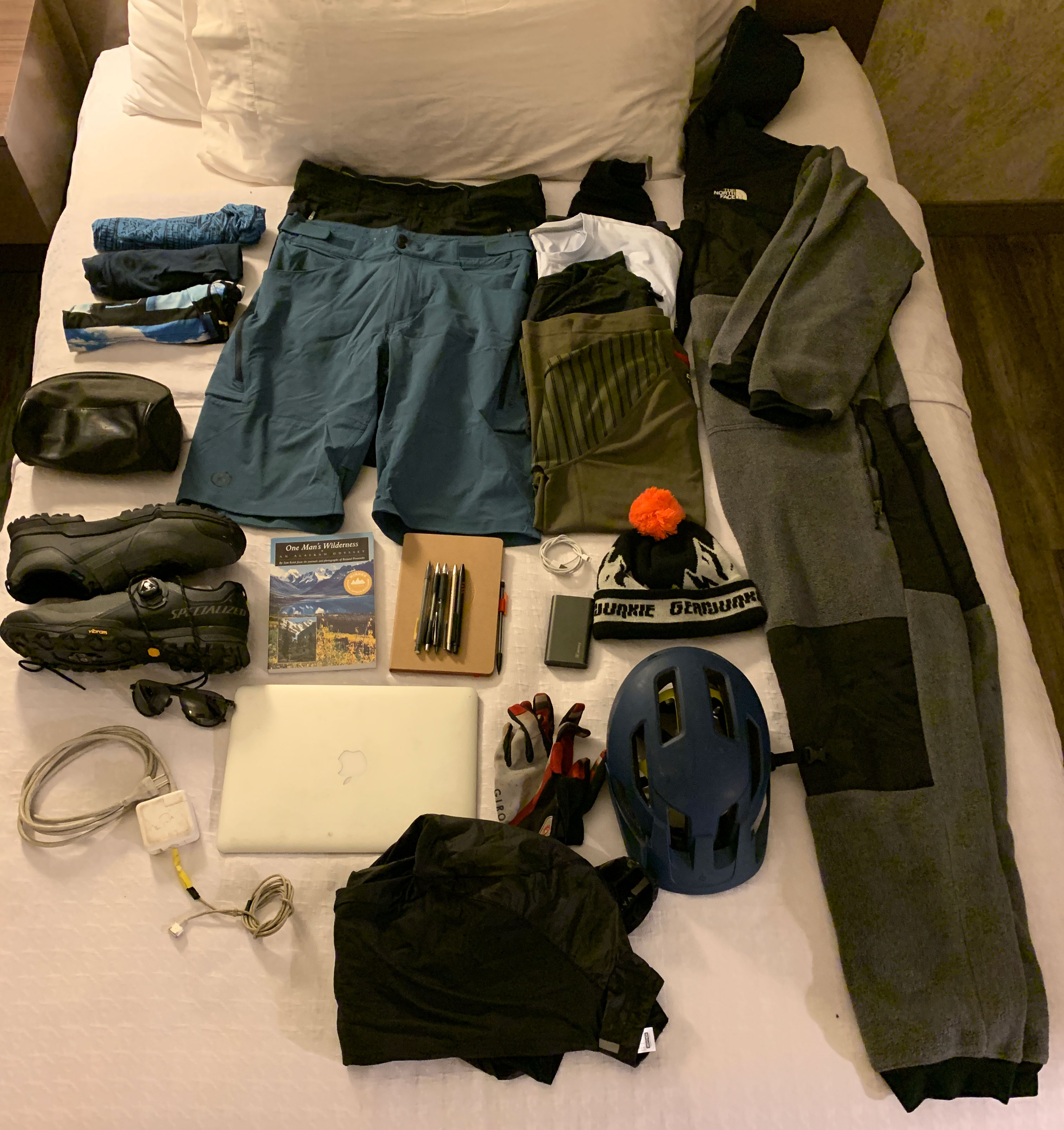 Cotopaxi Allpa 42 travel pack unpacked