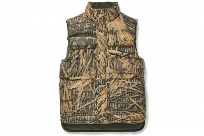 Filson Mossy Oak Camo Down Cruiser Vest