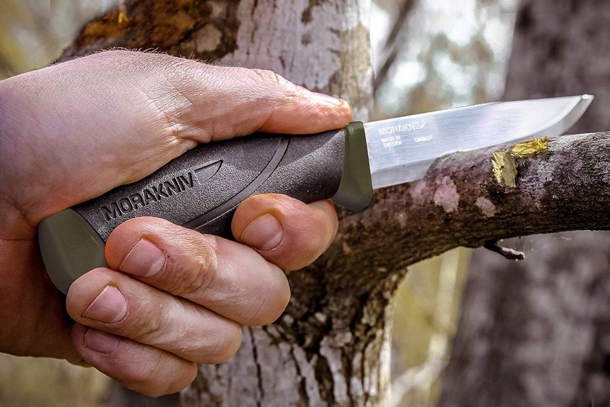 Morakniv fixed blade outdoor knife