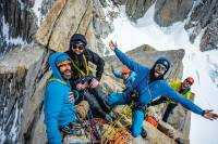 Patagonia climbers recycled fair trade shell jackets
