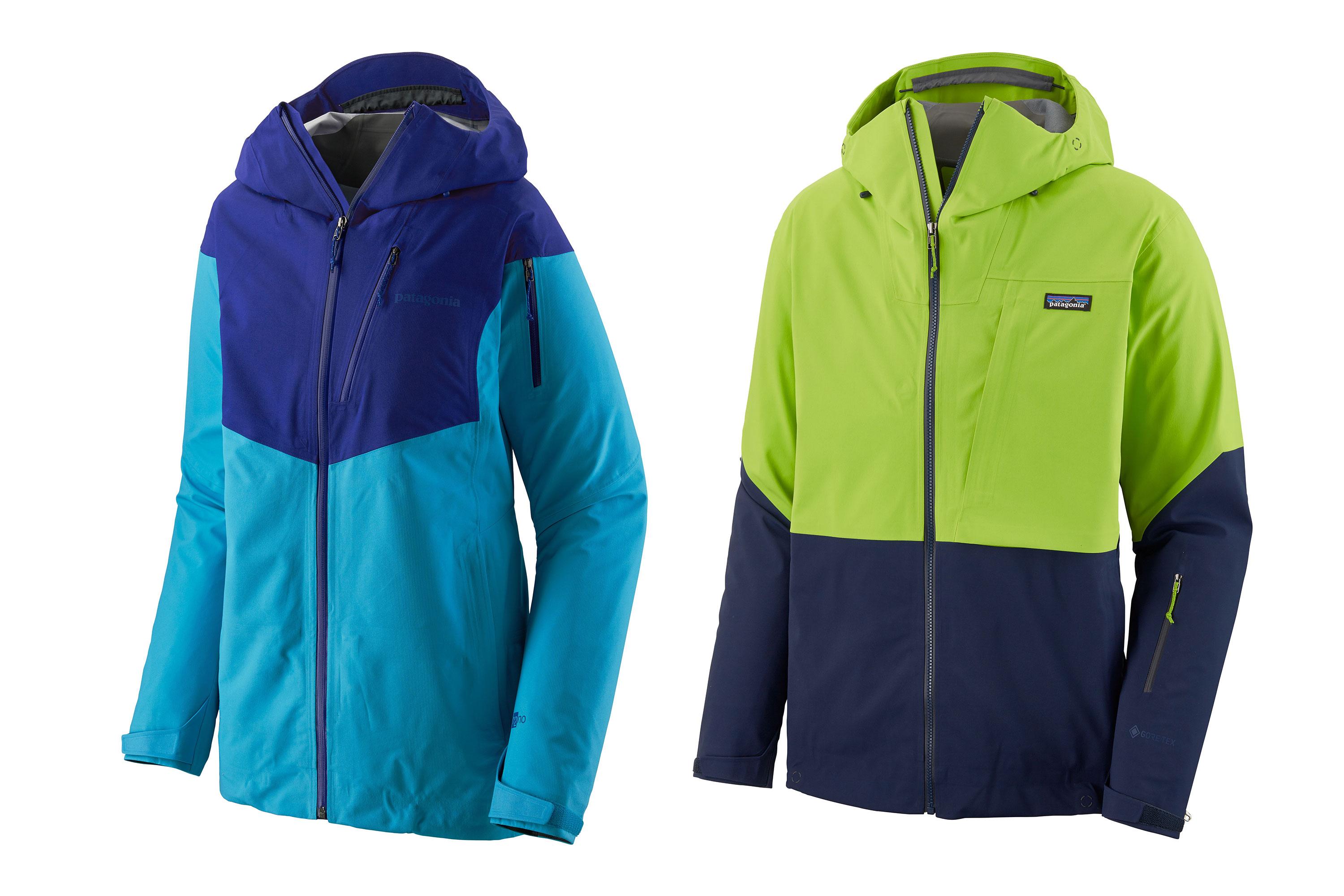 Patagonia recycled fair trade waterproof shells