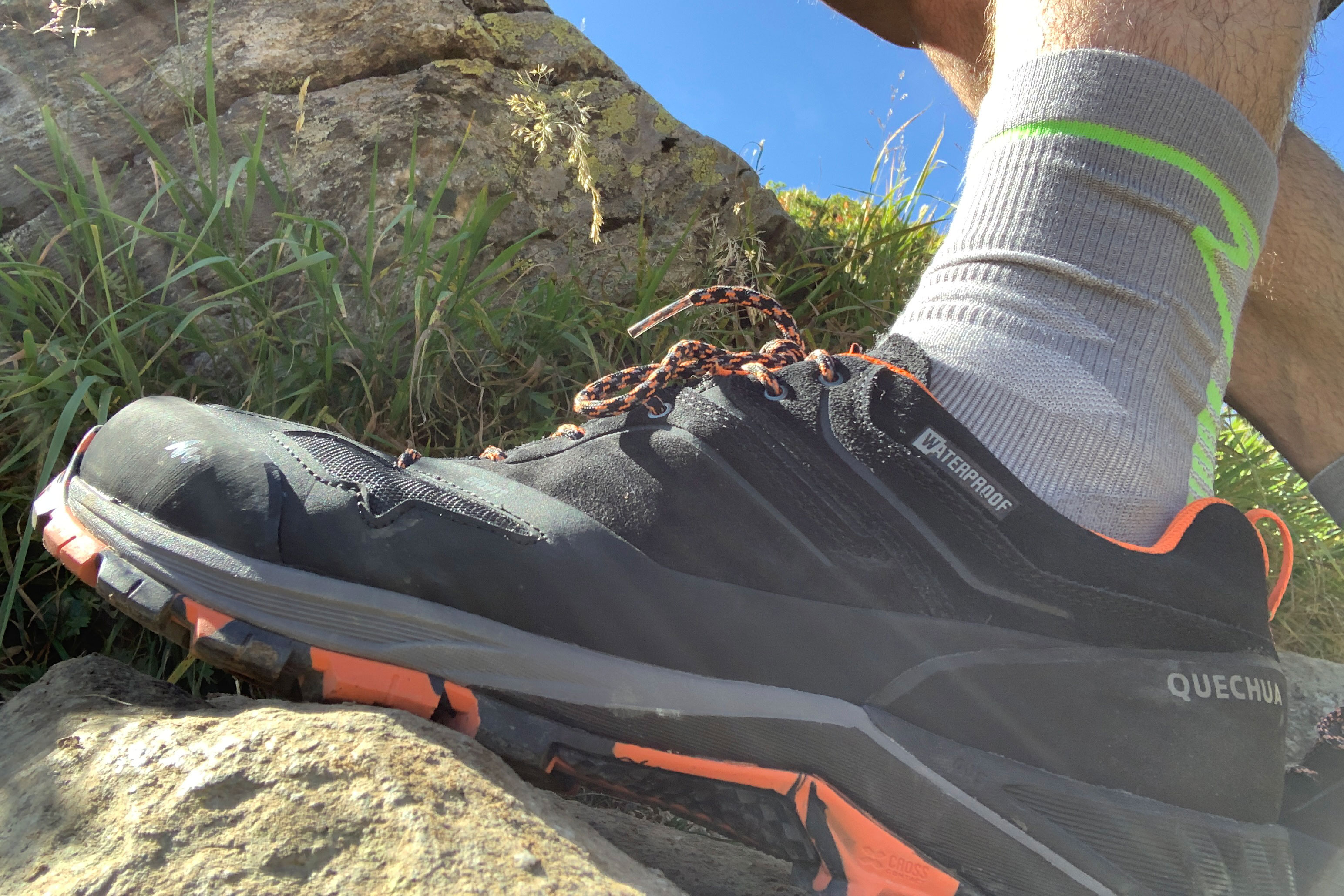 Decathlon Quechua hiking shoe