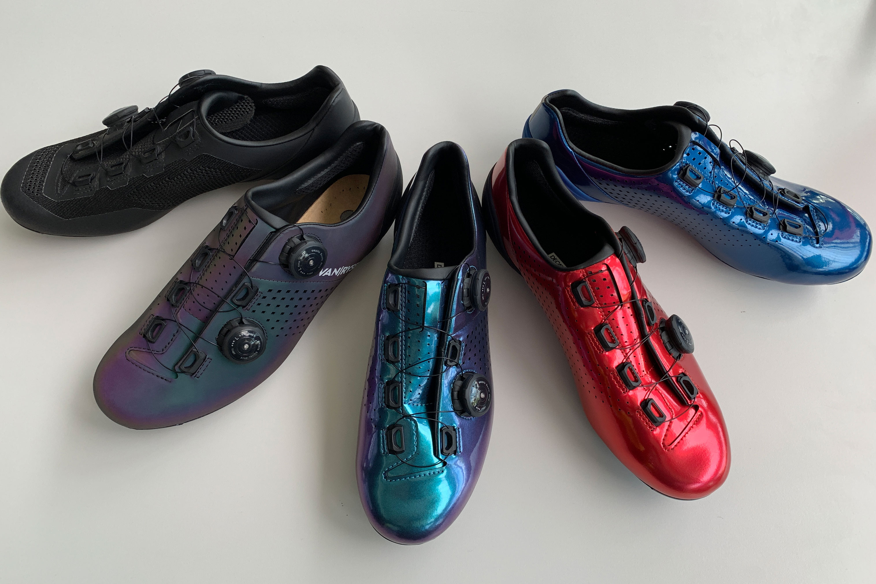 Van Rysel road cycling shoes