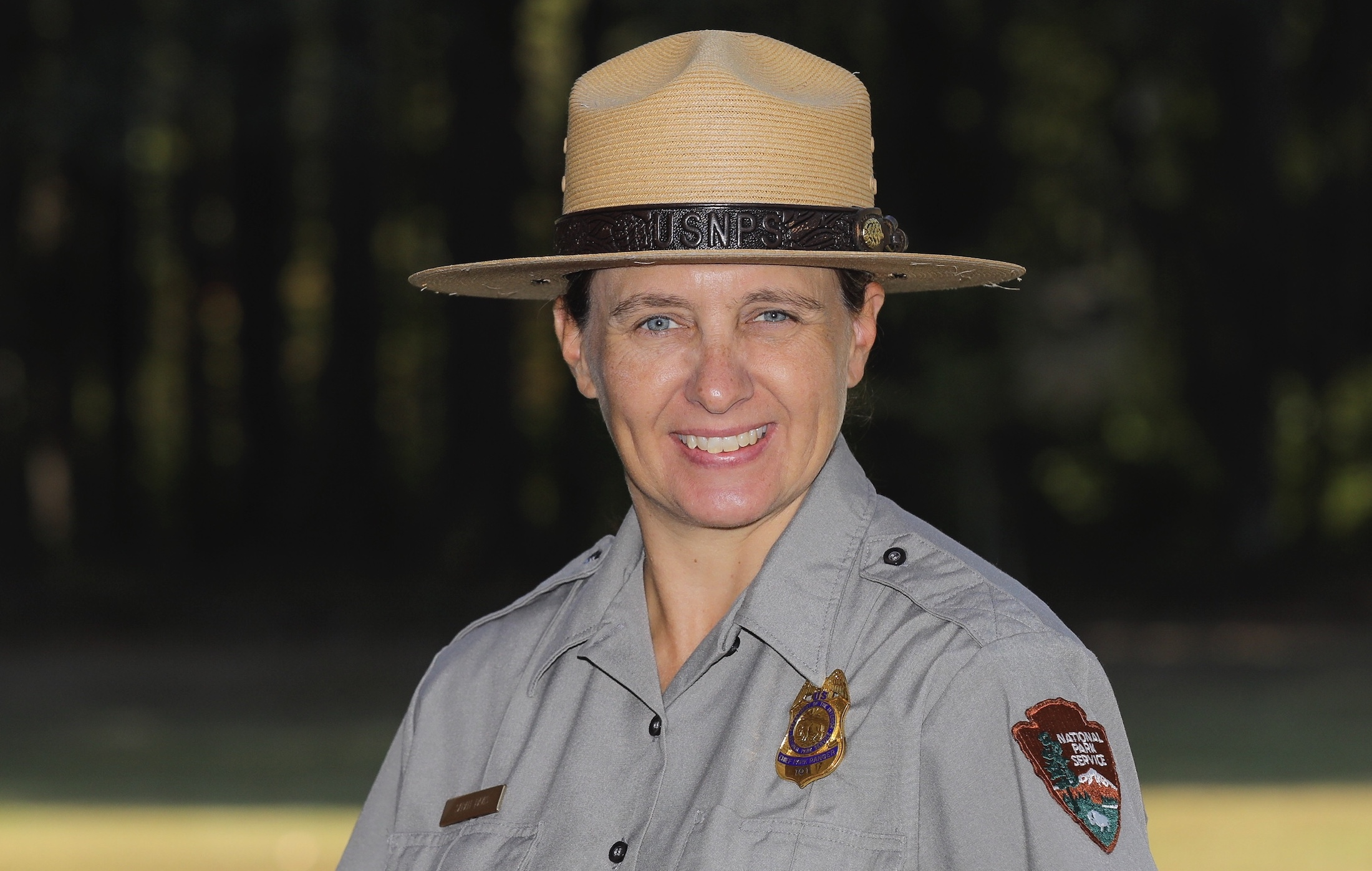 Sarah Davis, Chief NPS Ranger