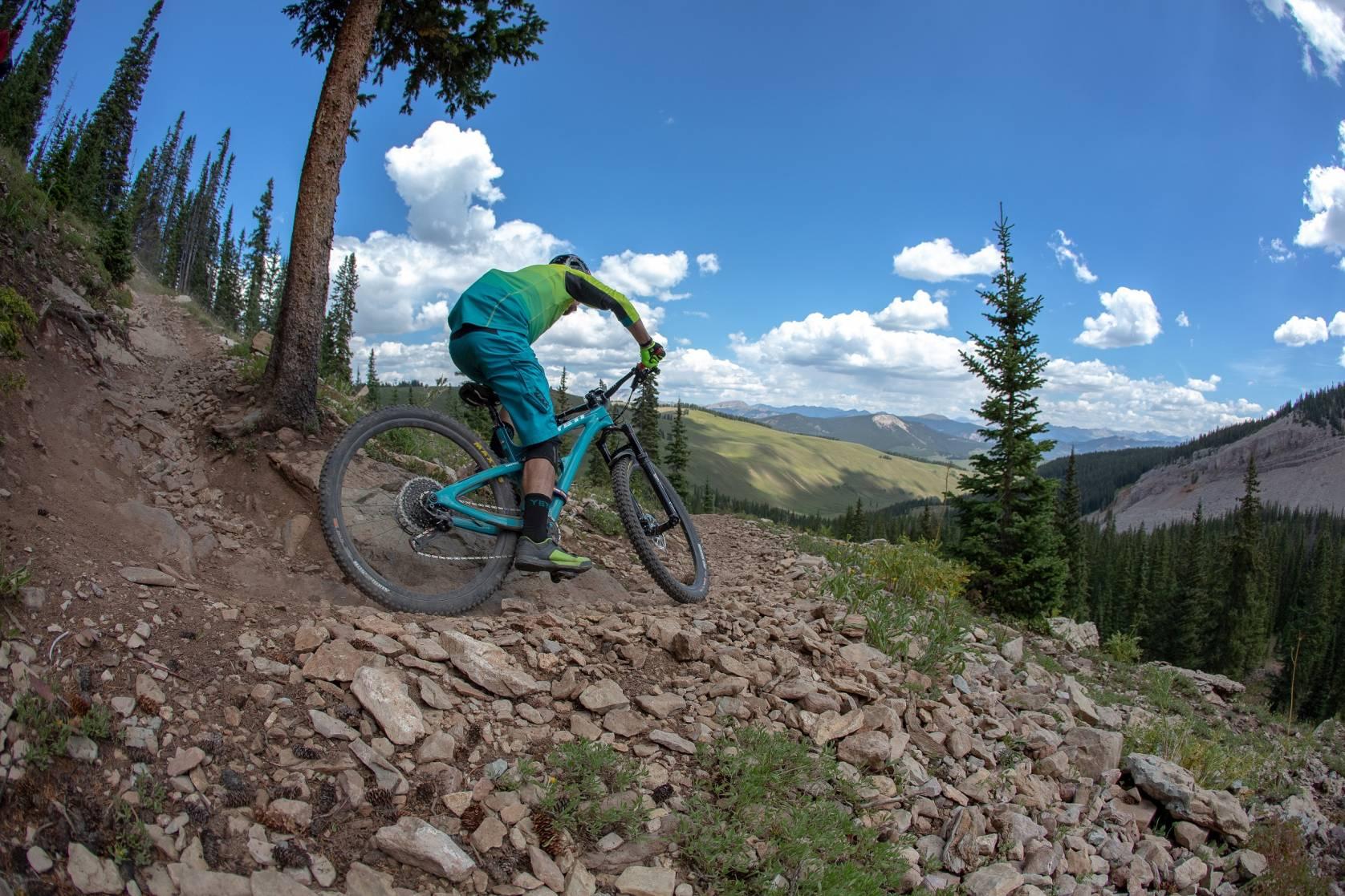 warren miller mountain bike
