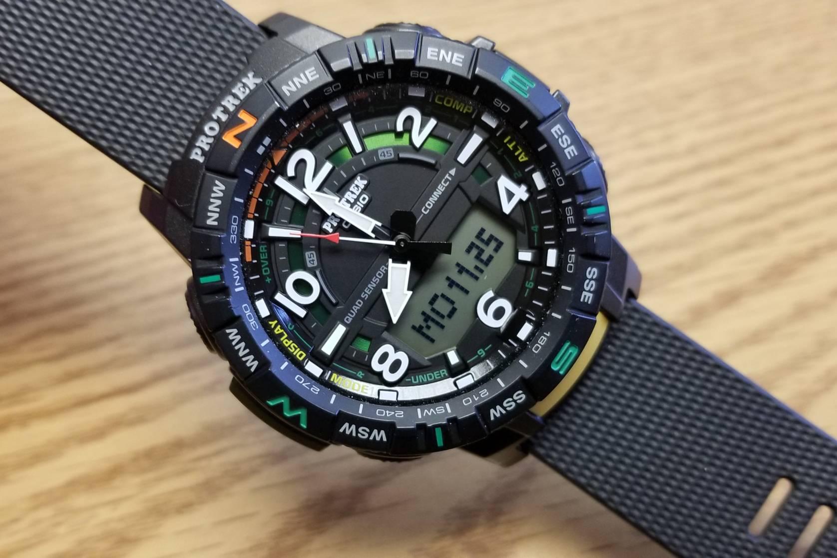 Casio Pro Trek PRT-B50 Watch Review