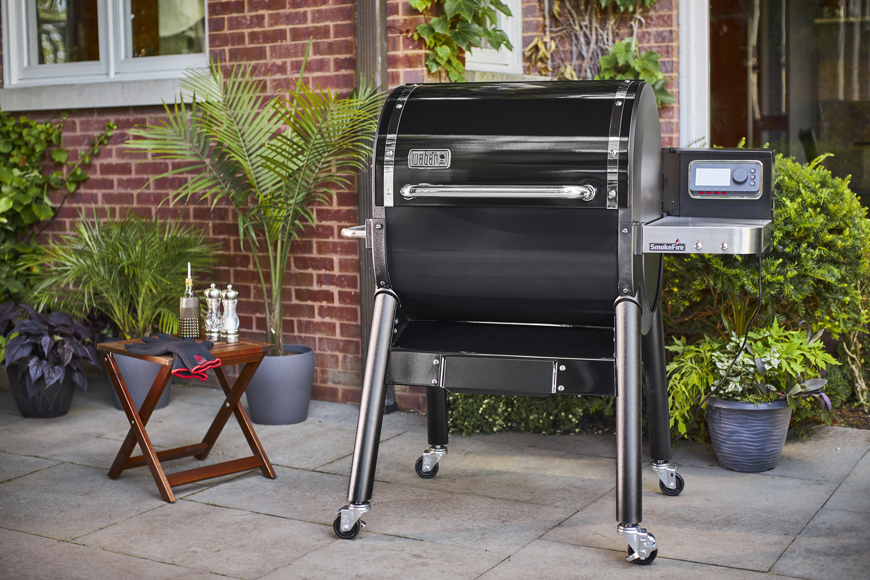 Weber Launches Its First Wood Pellet Grill