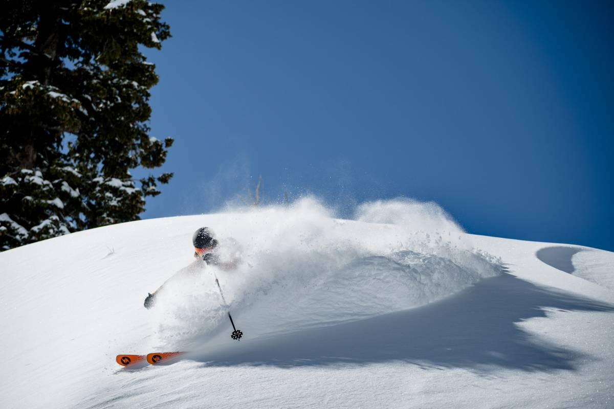 Backcountry Cyber Sale Skiing Powder in the Mountains