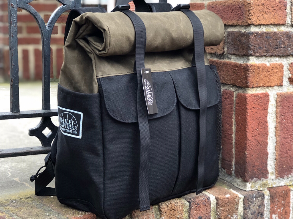 Bailey Works Nomad Roll-Top Pack