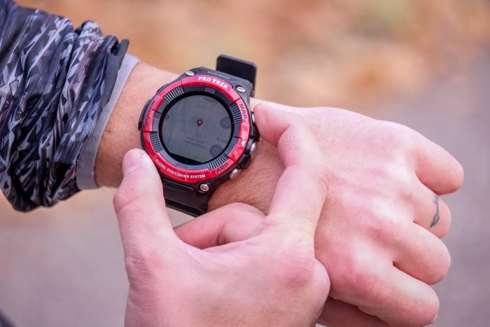 Casio Pro Trek WSD-F21HR Smart Watch