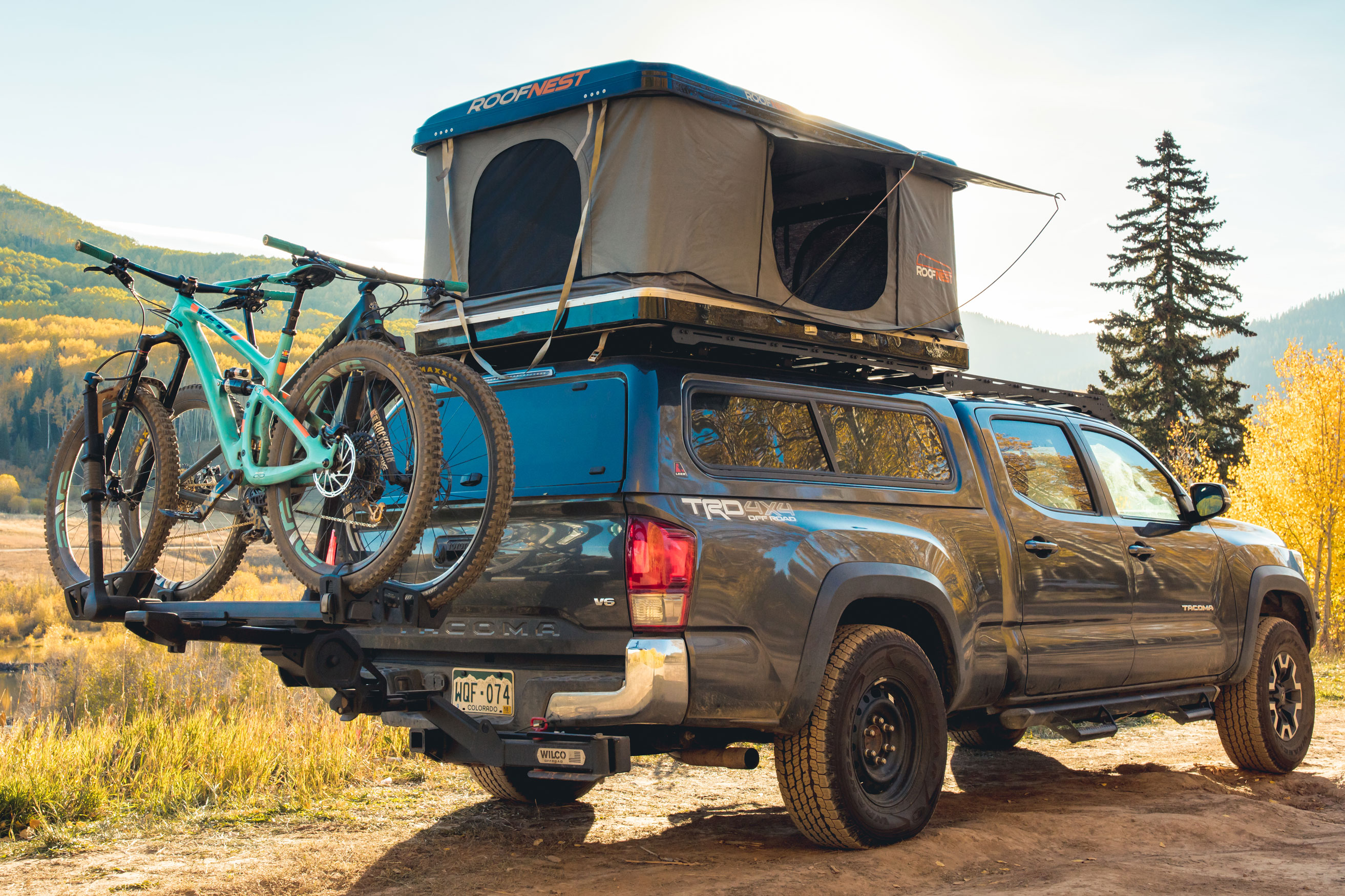 Roof Nest Eagle rooftop tent