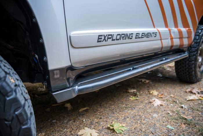 Lexus GX460 guardrail