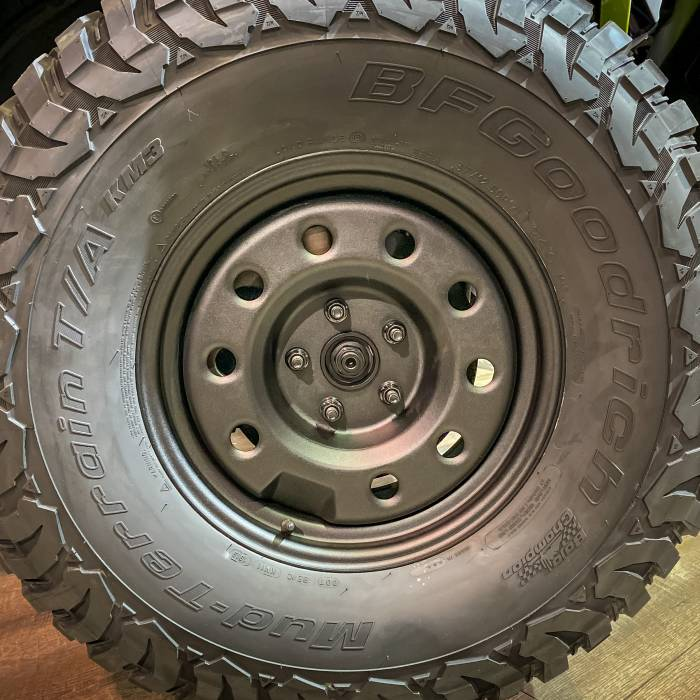 AEV Steel Wheels