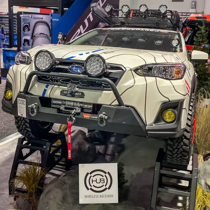 Warn Subaru Crosstrek Winch Bumper