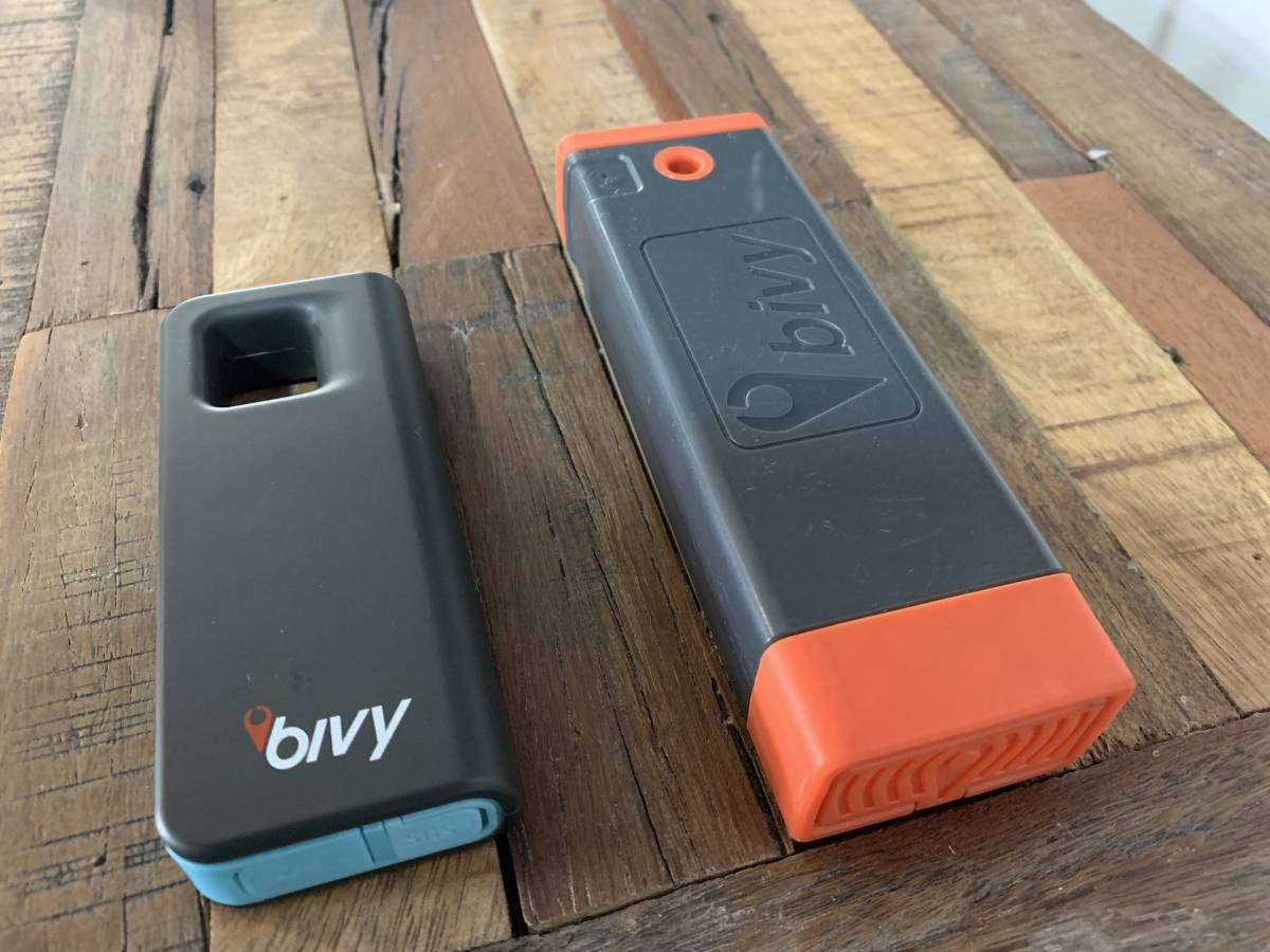 BivyStick versions 2.0 and 1.0