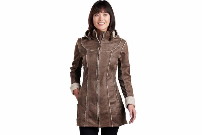 KUHL Dani Sherpa Trench Coat