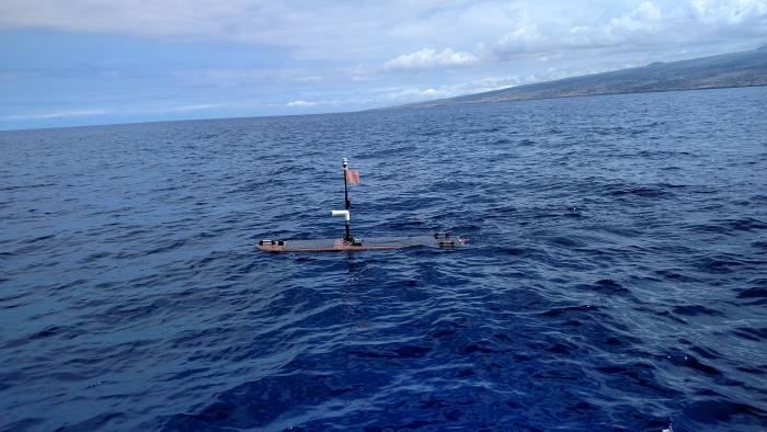 Liquid Robotics' Wave Glider; photo credit: Liquid Robotics.