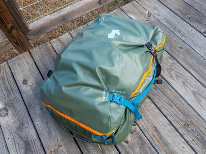 Cotopaxi Allpa 70 Overland Bag review