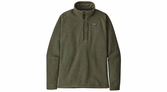 Patagonia Better Sweater 1/4-Zip Fleece Jacket On Sale