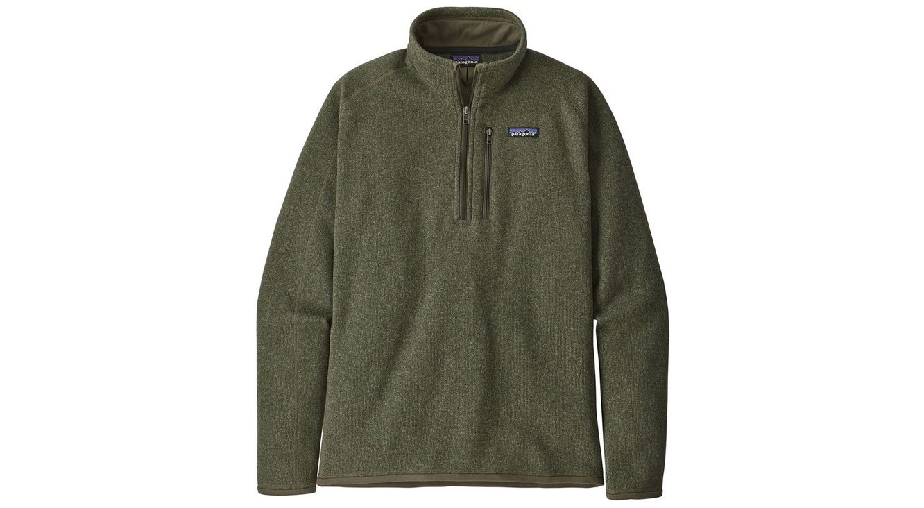 Patagonia Better Sweater 1/4-Zip Fleece Jacket On Sale
