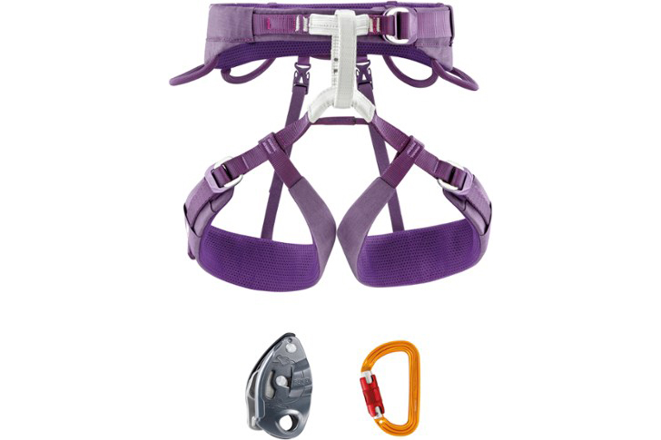 Petzl Luna Climbing Harness Kit