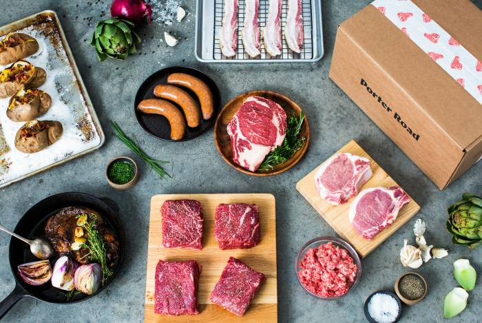 Porter Road Meat Subscription Box