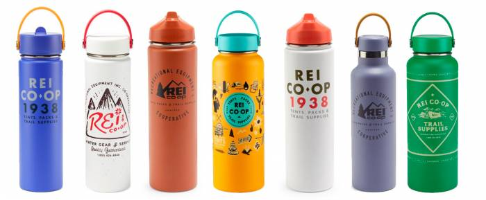 REI Co-op Brand Hydro Flask Water Bottles On Sale