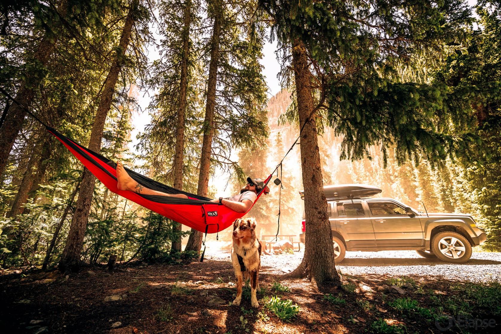 Eno DoubleNest Hammock Car Camping
