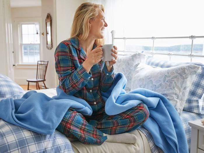 Scotch Plaid Flannel Pajamas