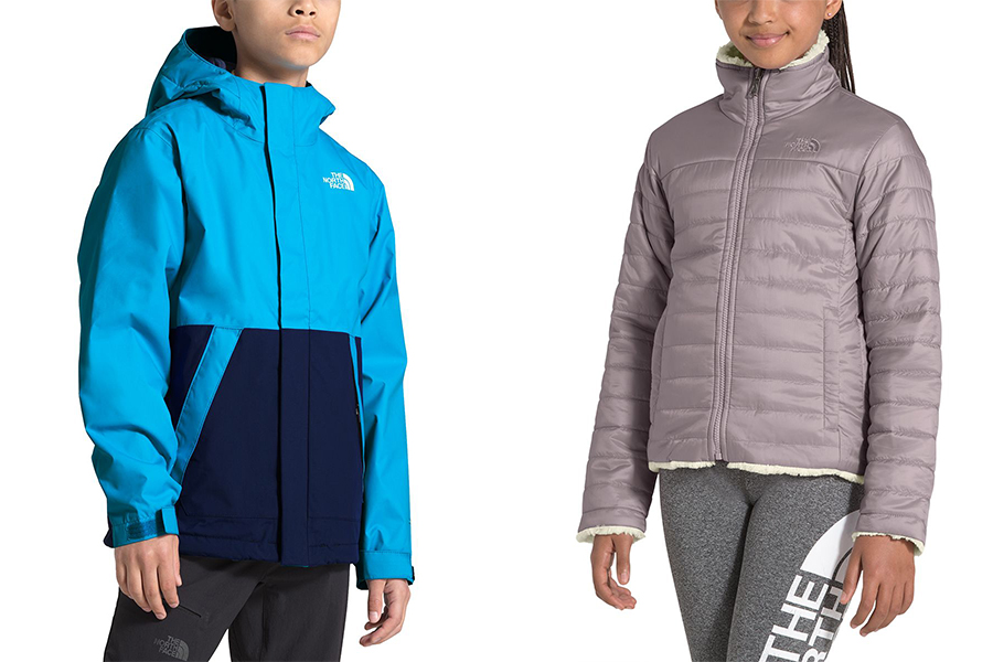 The North Face kids' jackets