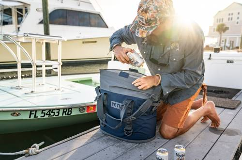 YETI Gift Guide Hopper M30 Boat Dock Beers