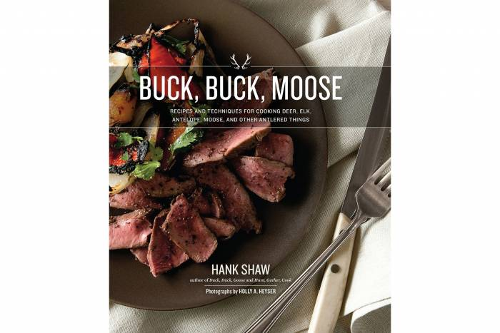 Hank Shaw wild game cookbooks