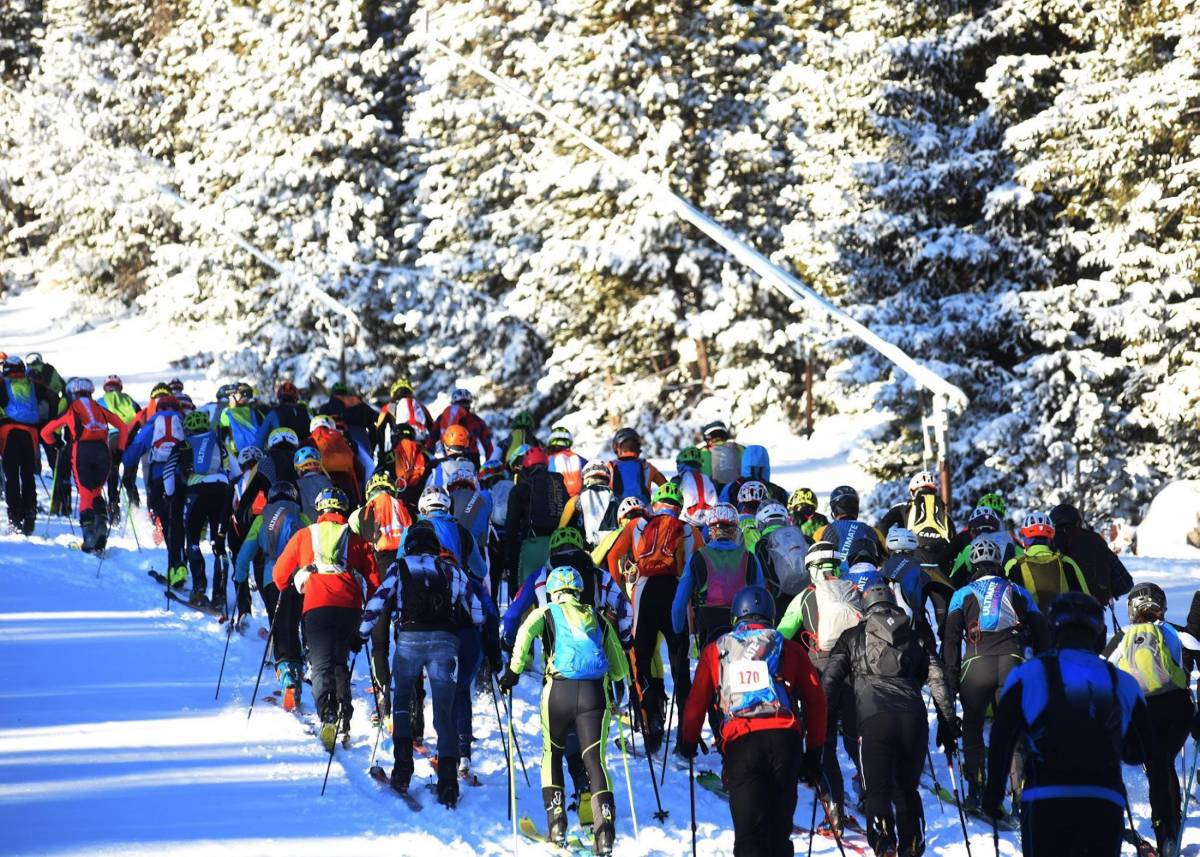 Skimo USSMA race at Eldora this past weekend.