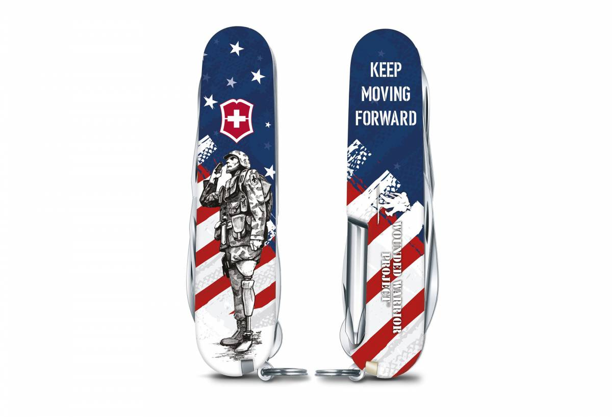 Victorinox Wounded Warrior Swiss Army Knife