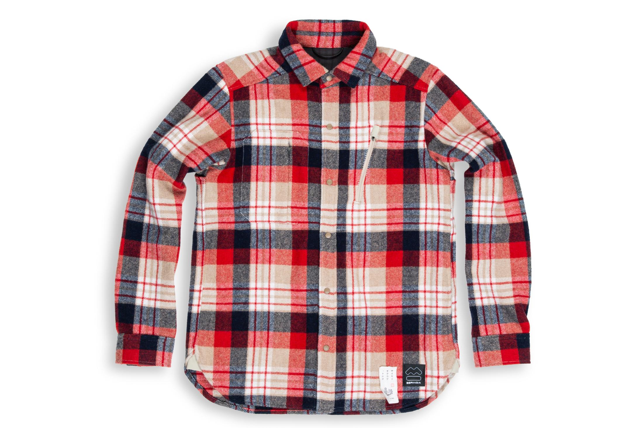 Beringia Mens Farallon Shirt Red