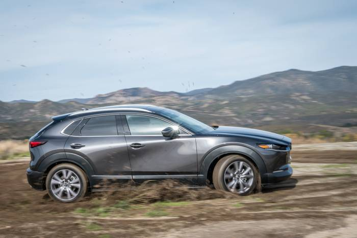 2020 Mazda CX-30 off-road
