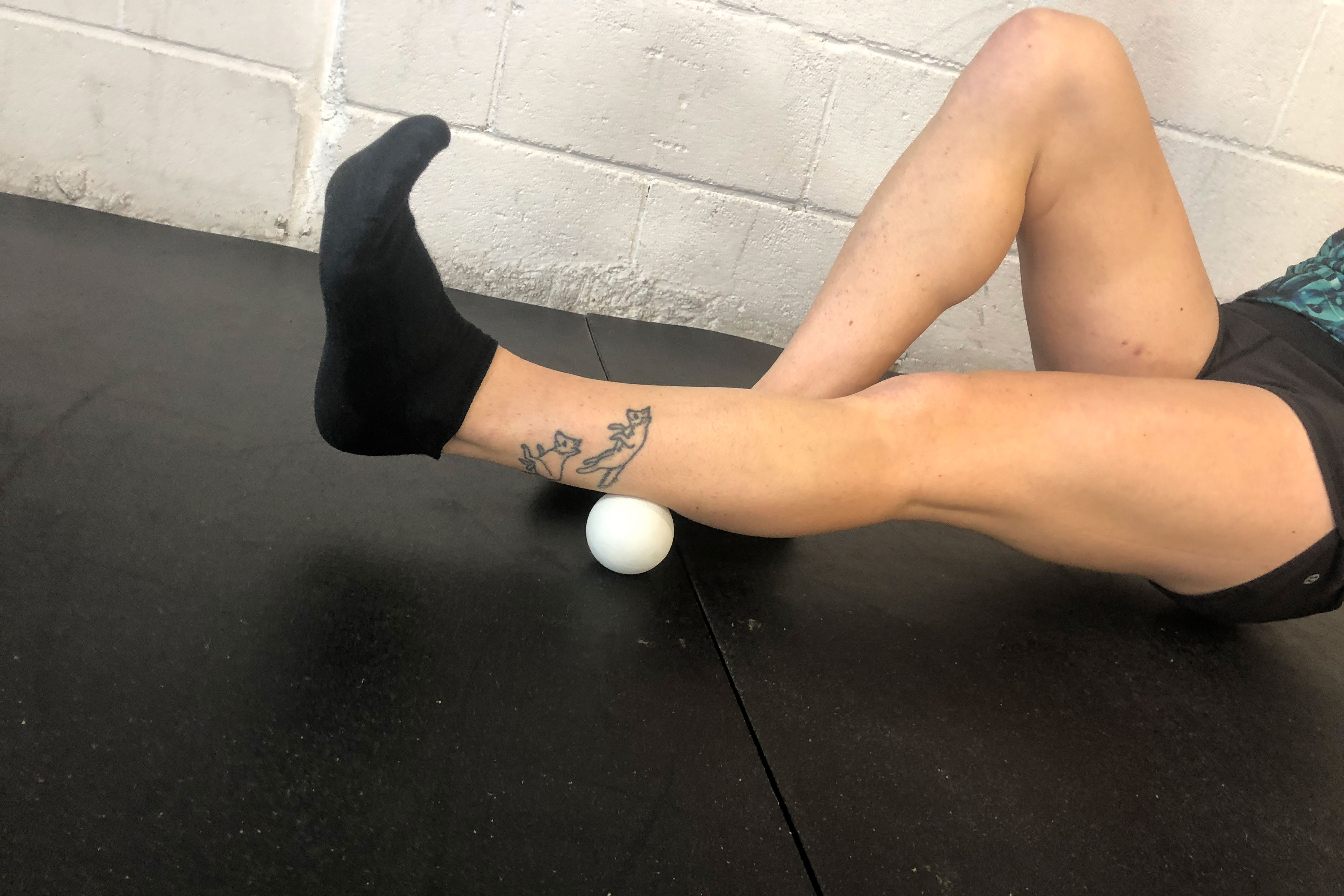 Lacrosse ball massage