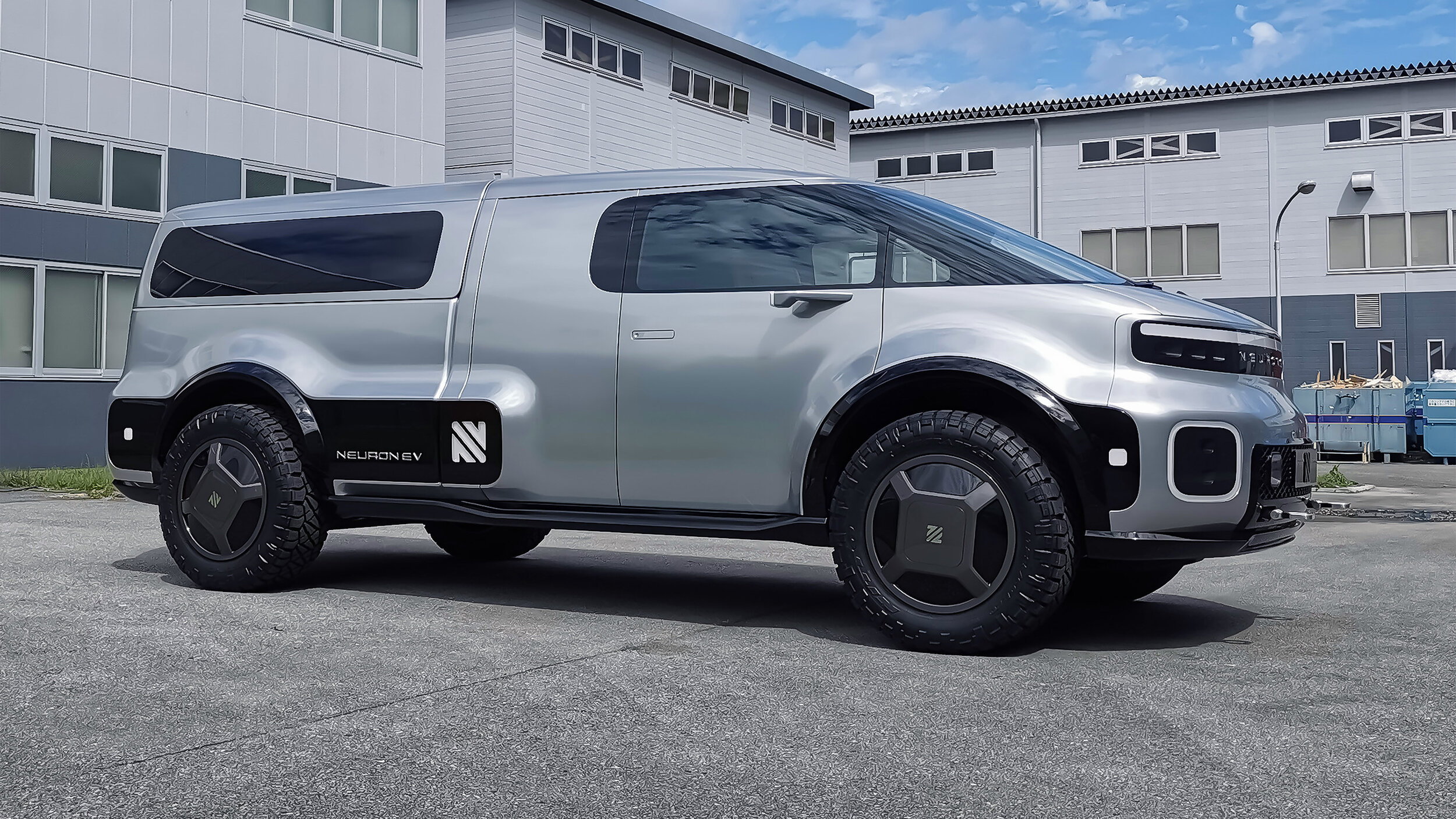 Neuron EV T.ONE: 'World's First Modular Electric Utility Vehicle' | GearJunkie