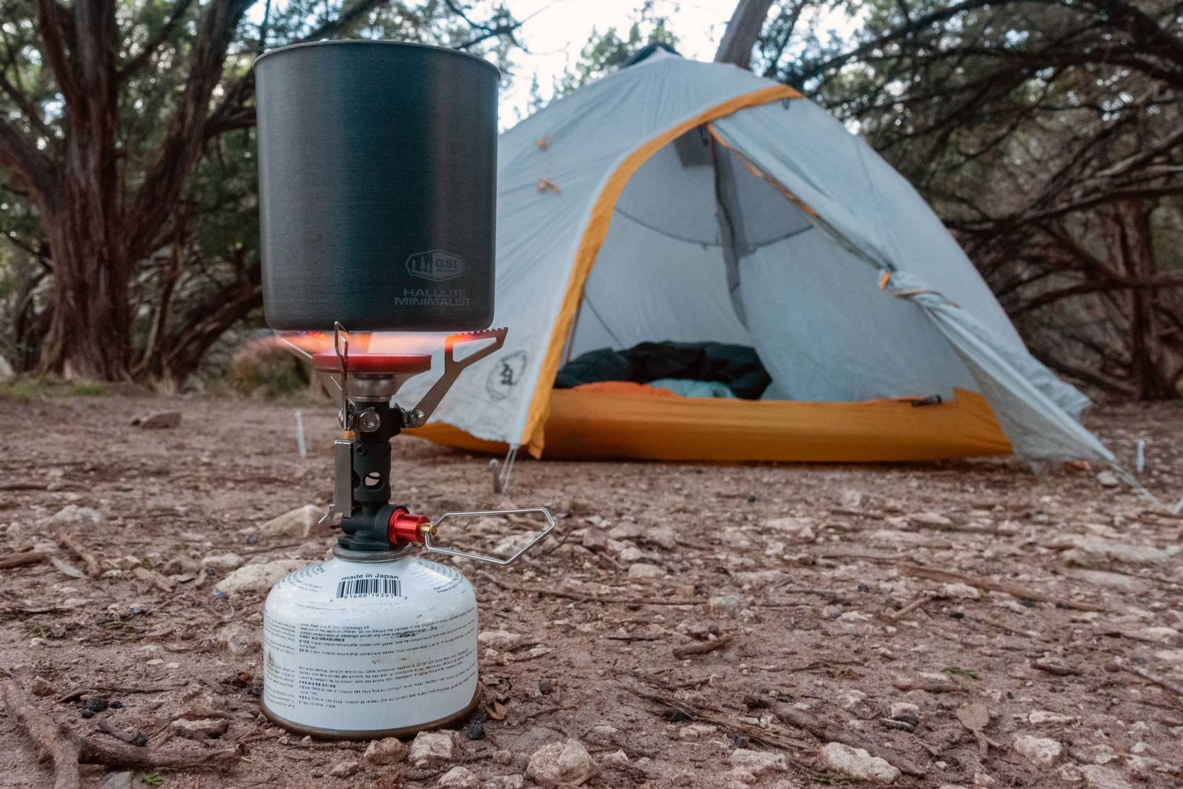 MSR Pocket Deluxe camp stove