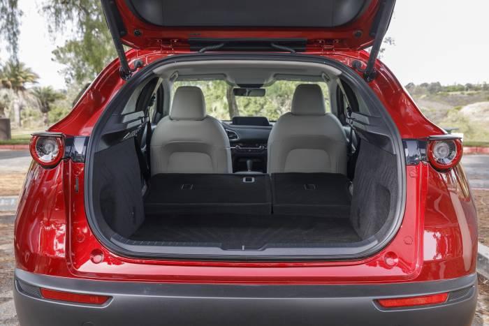 2020 Mazda CX-30 storage