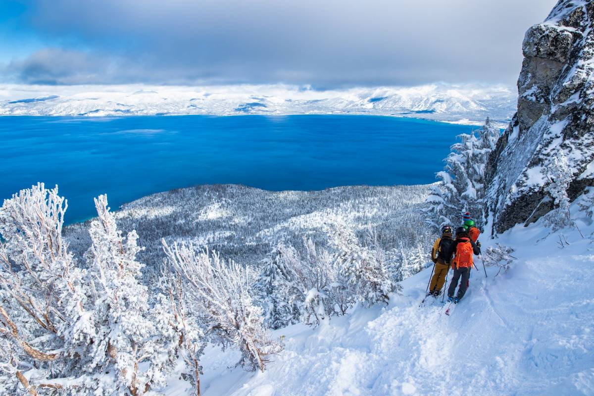 backcountry ski tour Tahoe