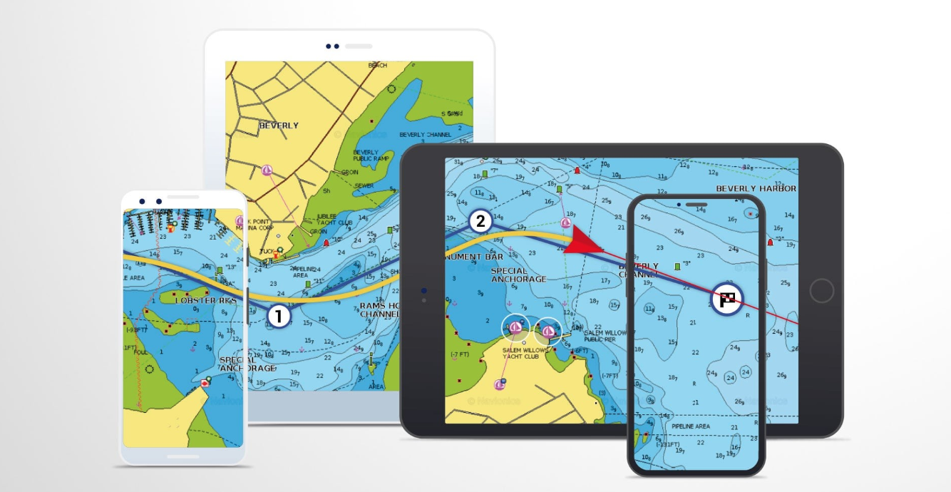 Navionics fishing app