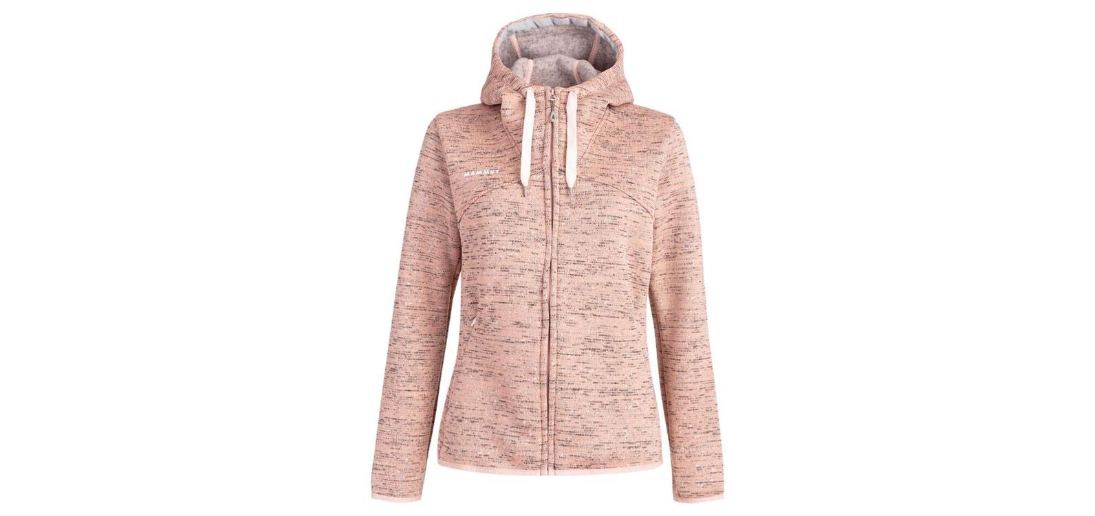 best fleece jacket for women: Mammut Chamuera Hooded Jacket
