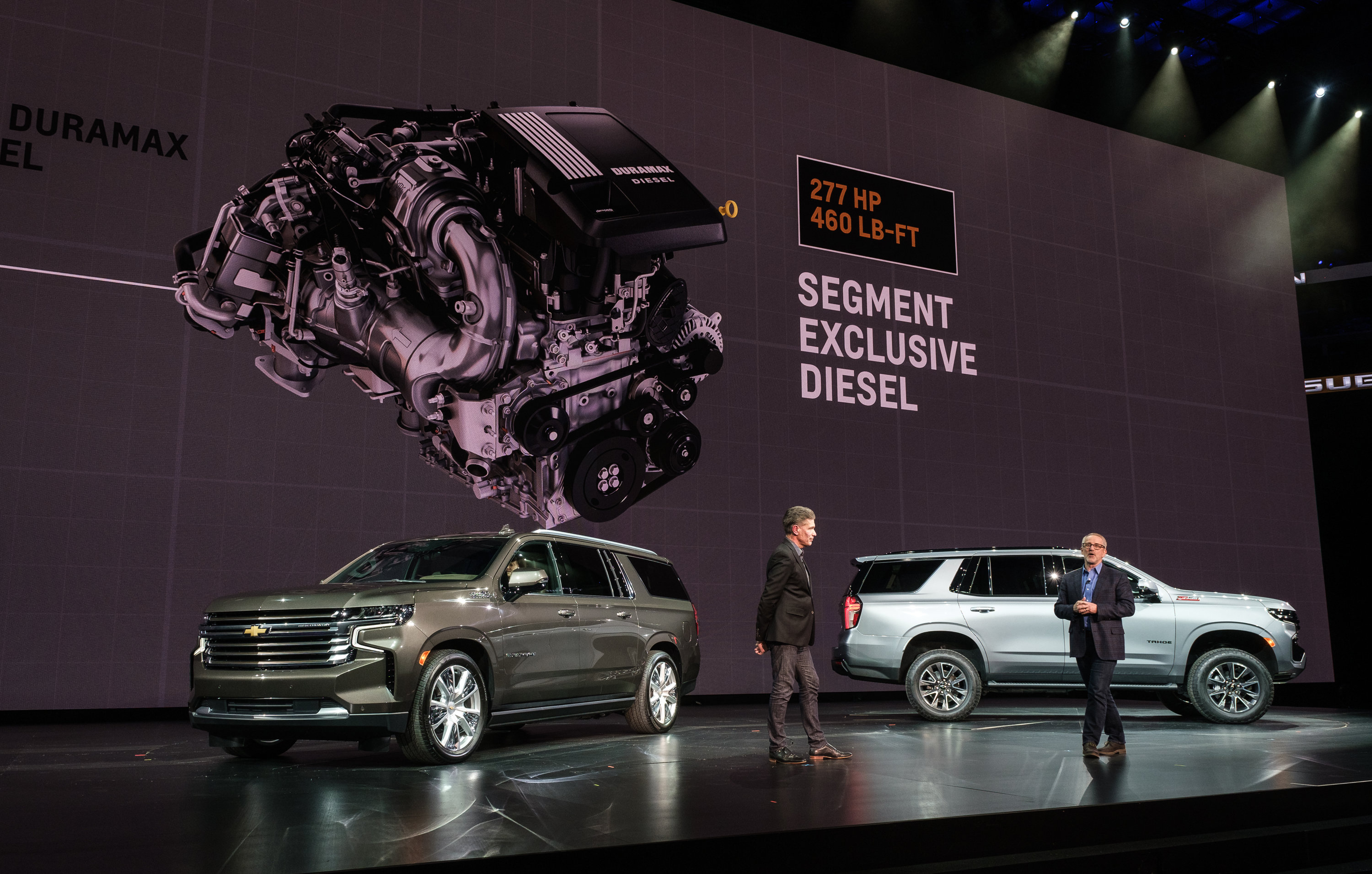 Chevy Tahoe & Suburban: Huge, High-Tech People-Haulers for ...