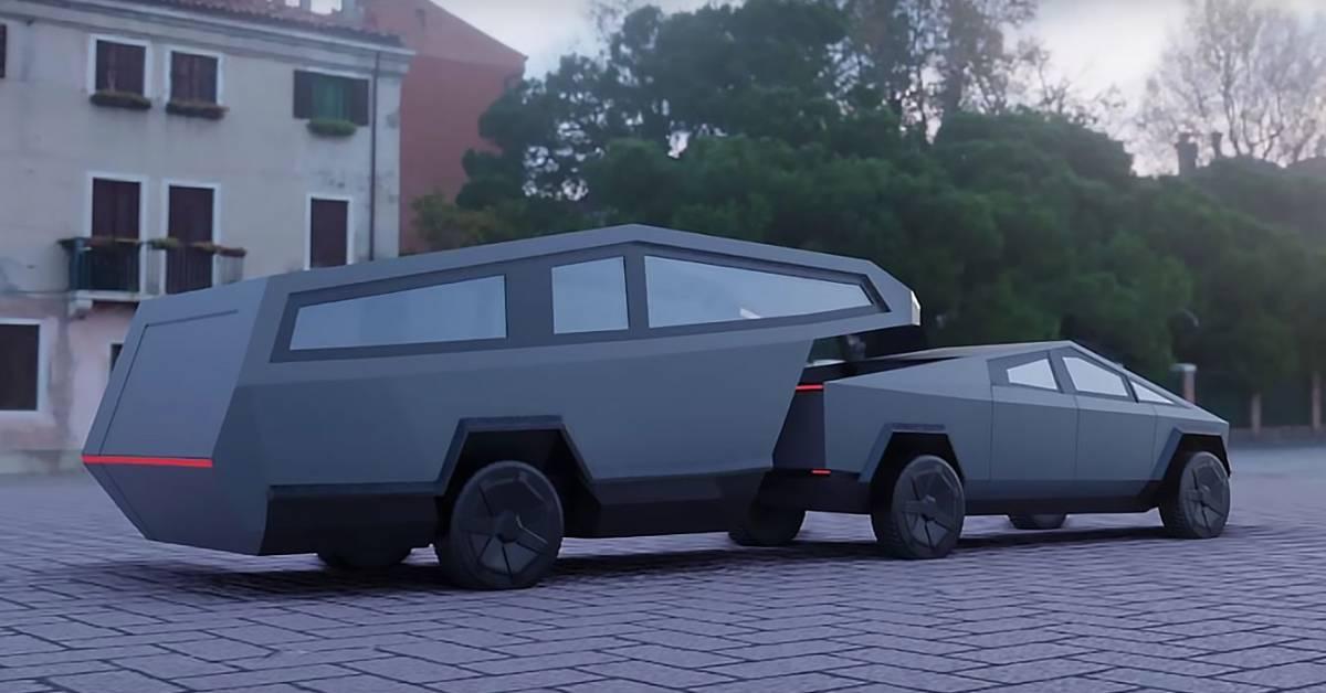 Tesla Camper Concept: Meet the Cyber 5th-Wheel | GearJunkie
