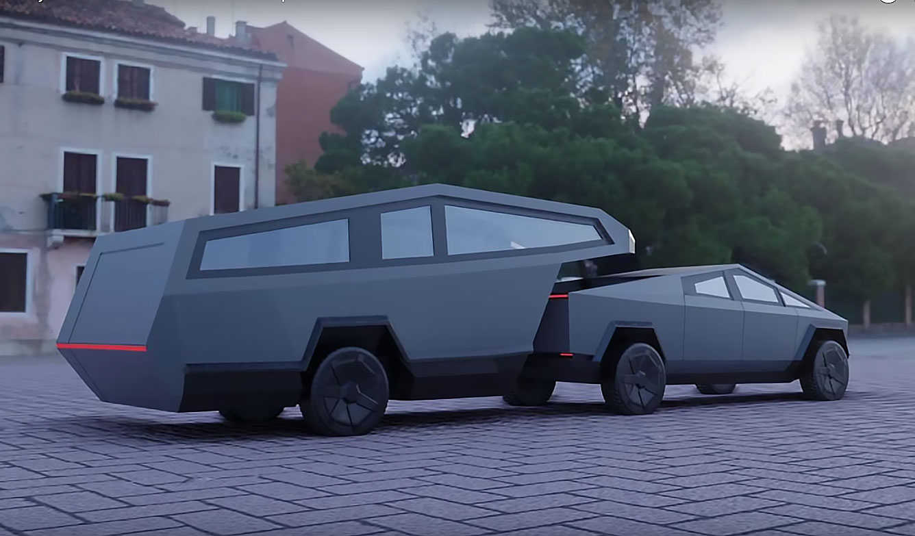 Tesla Cybertruck Fifth Wheel