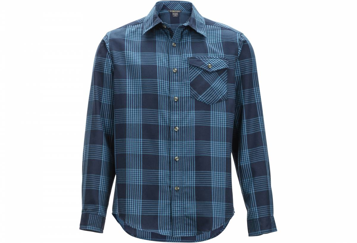 ExOfficio plaid flannel