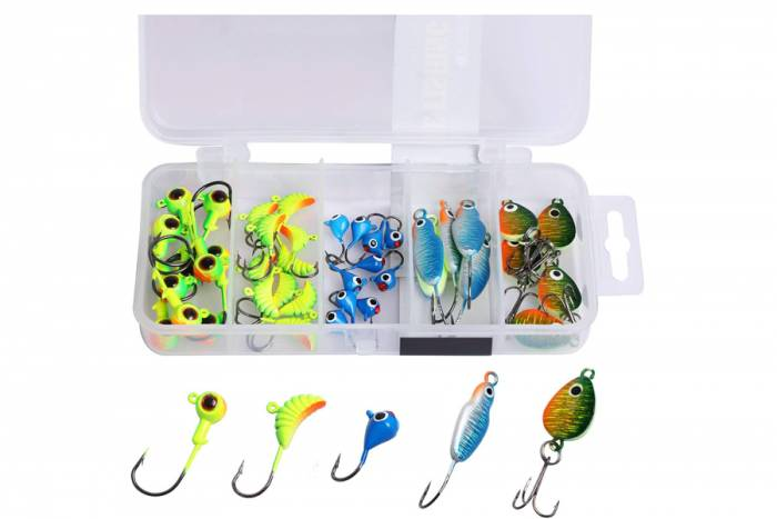 Goture Ice Fishing Jig Kit
