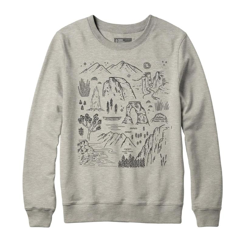 Parks Project Iconic National Parks Crew Sweatshirt