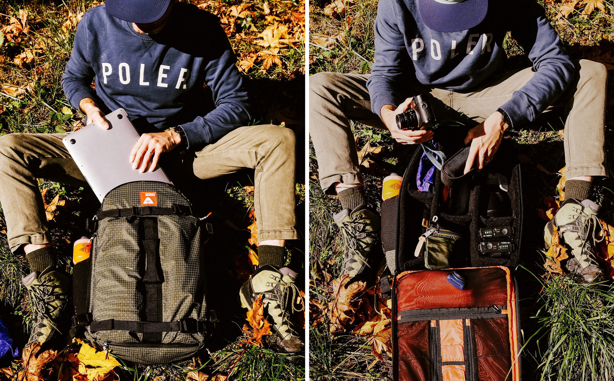 Poler Orange Label Camera Backpack